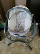 Graco soothing vibrations swing/bouncer/bassinet in Kingwood, Texas