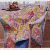 HONEYDEW – FLANNEL BABY Quilt Pattern From a Magazine in Westmont, Illinois
