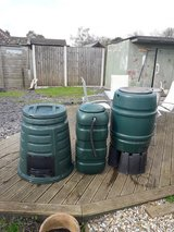 Water Buts & Compost Bin in Lakenheath, UK