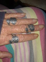 4Sterling silver spoon rings in Conroe, Texas