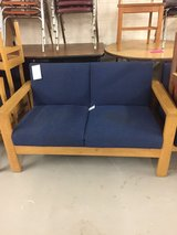 SMALL BLUE COUCH in Camp Lejeune, North Carolina