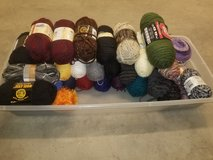 Assorted yarns in Pleasant View, Tennessee