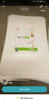 Wii fit board and game in Fort Campbell, Kentucky