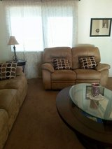 Couches, new TV, refrigerator for a very low price in Yucca Valley, California