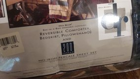 Sheets/Comforter (Bed-in-a-Bag) in Alamogordo, New Mexico