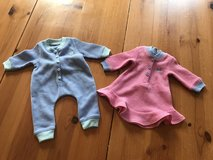 American Girl Bitty Baby Twins pajamas / like new! in Plainfield, Illinois