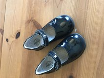 Girls black patent leather shoes in Plainfield, Illinois