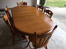 Solid Maple Table for Sale in Katy in Katy, Texas