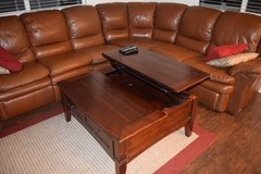 LARGE LEATHER 3PC SECTIONAL W/RECLINERS in Schofield Barracks, Hawaii