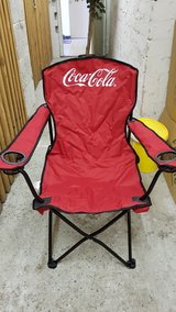 Coca Cola Camping Stool in Ramstein, Germany