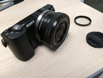 Sony a5000 mirrorless camera w/ 16-50mm kit lens in Ramstein, Germany