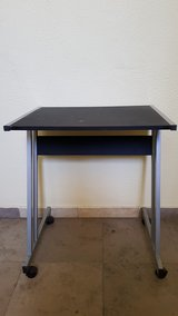 black desk in Ramstein, Germany