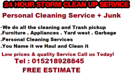 CLEANING SERVICE ALL INCLUSIVE TRASH PICKUP in Ramstein, Germany