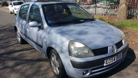 Renault clio automatic 1.4 petrol one year mot  Reduced in Lakenheath, UK