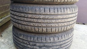 aloy weels with tyres or separate 205 / 55 / 16 in Lakenheath, UK