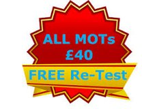 M.O.Ts ONLY £40 PLUS FREE RETEST in Lakenheath, UK