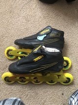Speed skates in Fairfax, Virginia