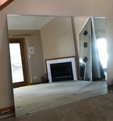 Large Mirror Great for Exercise Room -reduced in Orland Park, Illinois