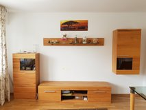 Living room cabinet with TV stand in Stuttgart, GE