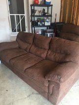 Couch and recliner in Oswego, Illinois