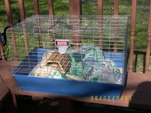 Small animal cage in Fort Campbell, Kentucky