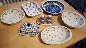 Polish Pottery Collection in Stuttgart, GE