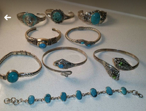 Sterling Jewelry plus more @Vacaville Vintage Flea Market in Travis AFB, California