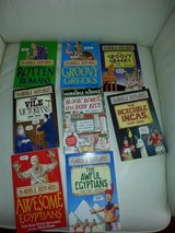 Horrible Histories collection of 8 books in Ramstein, Germany