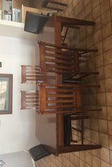 wood table w/6 chairs in Las Cruces, New Mexico