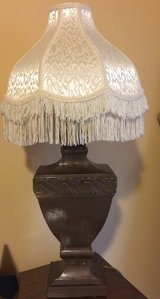 Heavy lamp and shade in Kingwood, Texas