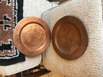 4 Hammered Copper Metal Plates in Ruidoso, New Mexico