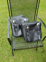 Leather saddle bags in Conroe, Texas