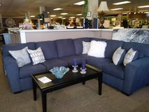 Denim Sectional in Fort Campbell, Kentucky