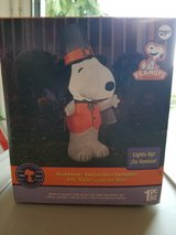 Inflatable Halloween Snoopy in Ramstein, Germany