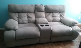 Double recliner couch in Beaufort, South Carolina