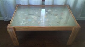 Handmade Glasstop Coffee Table in Camp Lejeune, North Carolina
