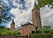Castle of Bruch in Spangdahlem, Germany