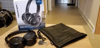 Audio-Technica Noise Cancelling Headphones--Quietpoint 50 in Ramstein, Germany