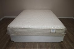 Queen Size Mattress - Sealy Candlewick Ltd. - Eurotop in Spring, Texas