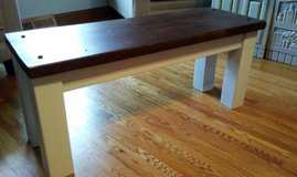 Rustic farmhouse bench - Entryway - Kitchen Table - Dining in Tinley Park, Illinois