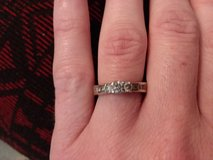 Diamond wedding ring in Lake Elsinore, California