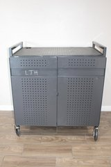 Tool Box Cabinet - Computer Storage Cart in Spring, Texas