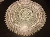 Art Deco hand crocheted tablecloth fine work finest handwork in Ramstein, Germany