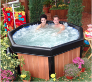 Brand New Spa Hot Tub Jacuzzi plus filters/chemicals in Perry, Georgia