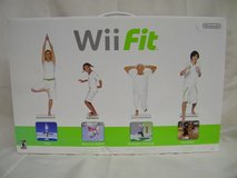 BRAND NEW Original Nintendo Wii Fit Bundle w Game & Balance Board in Plainfield, Illinois