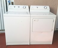 MAYTAG WASHER AND ELECTRIC 220V DRYER SET in Camp Pendleton, California