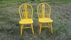 two yellow chairs in Cleveland, Texas