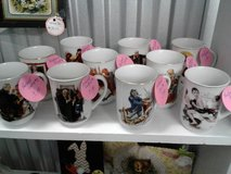 Norman Rockwell cups in Camp Lejeune, North Carolina