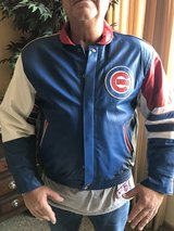 Chicago Cubs Leather Large Jacket in Bartlett, Illinois