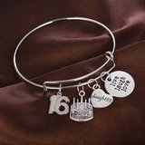 16th Daughter Birthday Charm Bracelet, New in Dickson, Tennessee